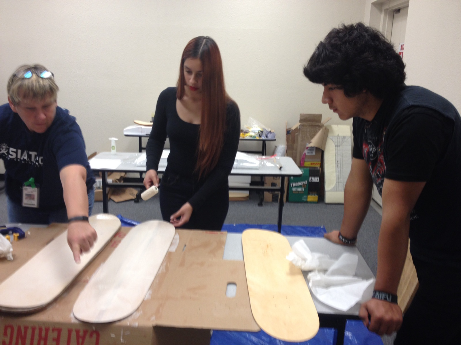 SIATech San Diego offers a unique course where students learn to make skateboards.