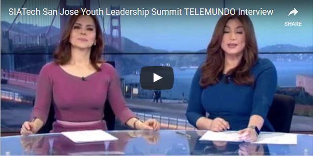 SIATech San Jose Youth Leadership Summit San Jose Telemundo