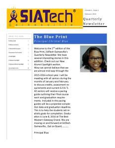 SIATech Gainesville newsletter 2016 charter high school