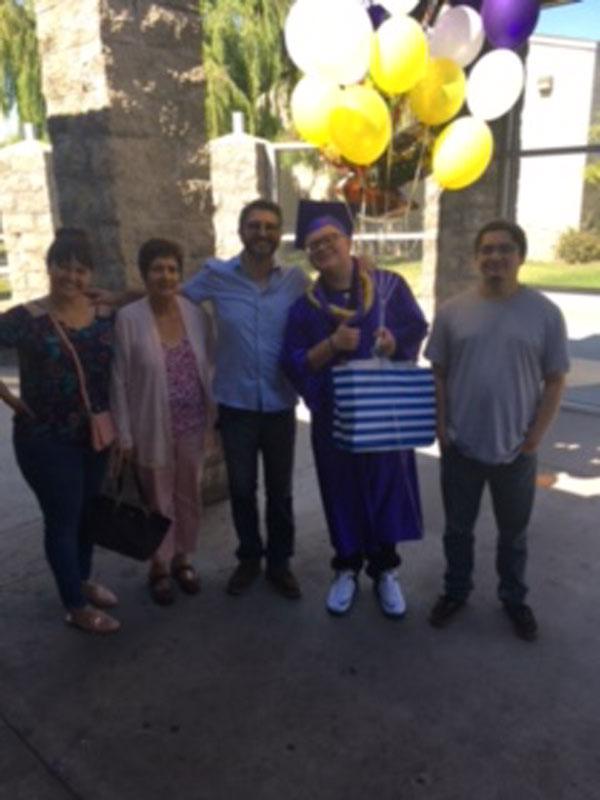Cesar Barriga, SIATech Long Beach's First Graduate