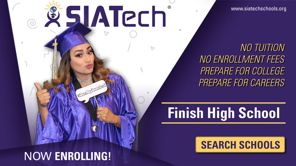 SIATech Charter High Schools Now Enrolling