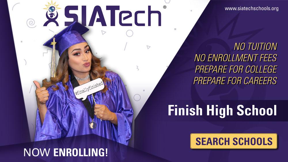 SIATech Charter High Schools, Free High School Diploma