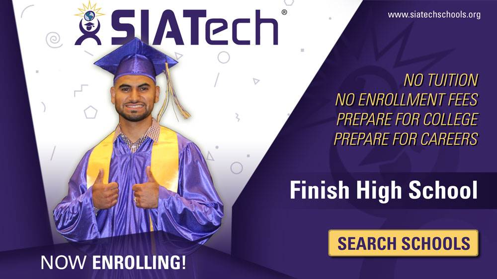 SIATech Charter High Schools Now Enrolling
