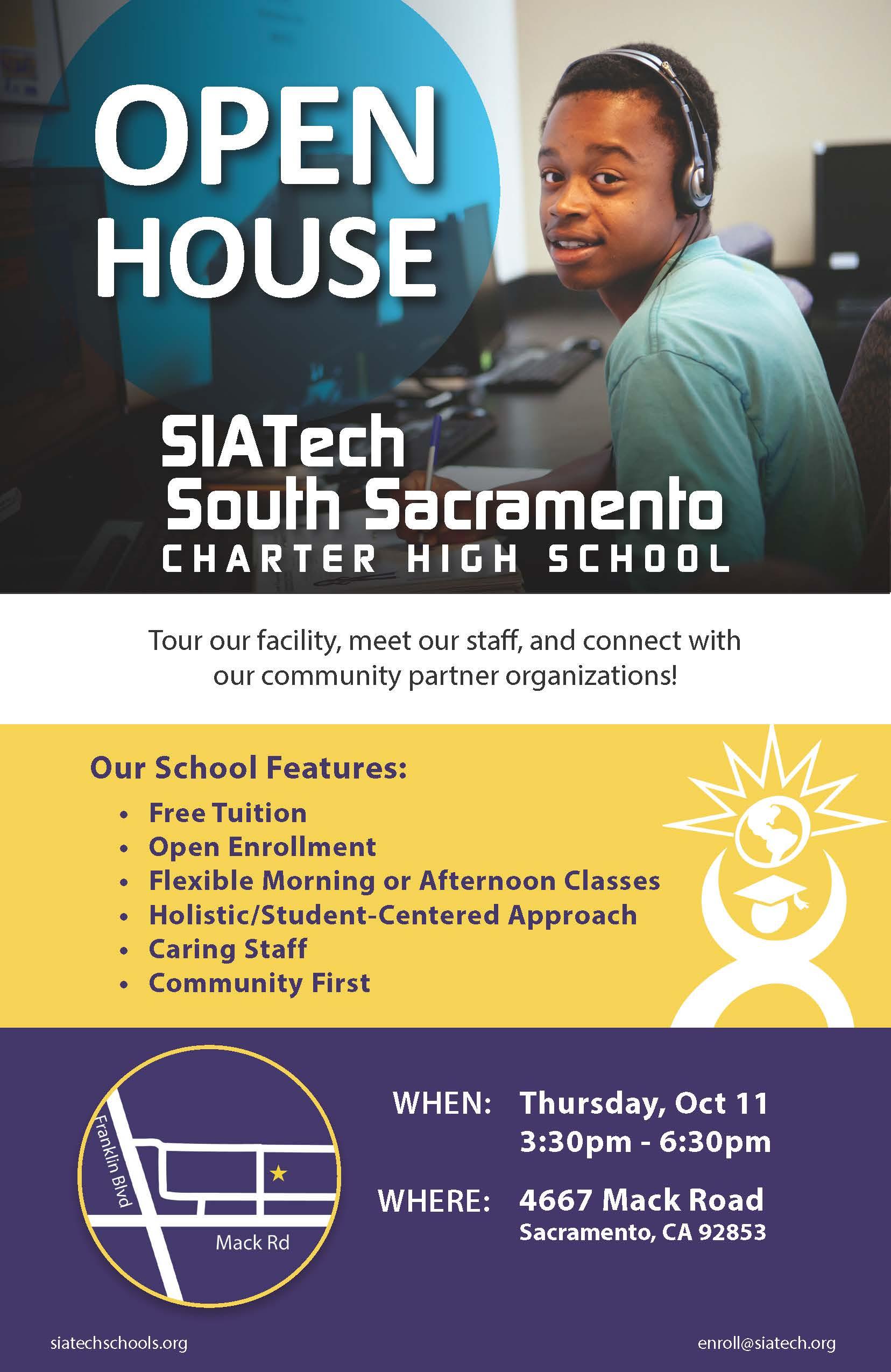 Siatech South Sacramento Charter High School Siatech Charter