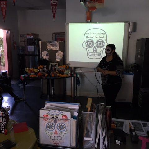 SIATech Dia De Los Muertos and education